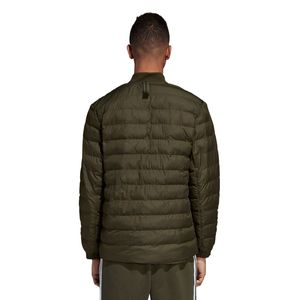 adidas Originals SST Outdoor Jacket Herren Steppjacke olive DJ3193 – Bild 4