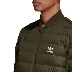 adidas Originals SST Outdoor Jacket Herren Steppjacke olive DJ3193 – Bild 6