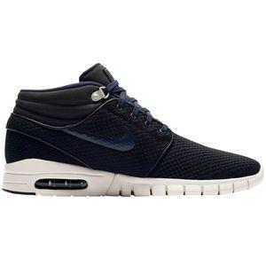 Nike Stefan Janoski Max Mid Sneaker Herren schwarz blau – Bild 1