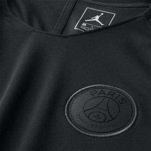 Nike Paris Saint-Germain Breathe Squad Shirt Kinder schwarz AQ0970 012 – Bild 3