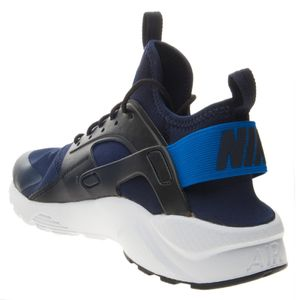 Nike Air Huarache Run Ultra GS Sneaker schwarz blau 847569 410 – Bild 3
