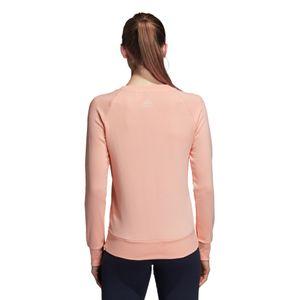 adidas Essentials Allcap Crewneck Sweatshirt Damen coral CY6262 – Bild 4