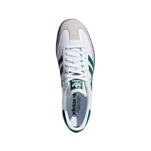 adidas Originals Samba OG Sneaker Sportschuh weiß grün B75680 – Bild 3