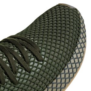 adidas Originals Deerupt Runner Herren Sneaker base green B41771 – Bild 6