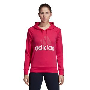 adidas Essentials Linear Over Head Hoodie Damen pink CZ5730 – Bild 2