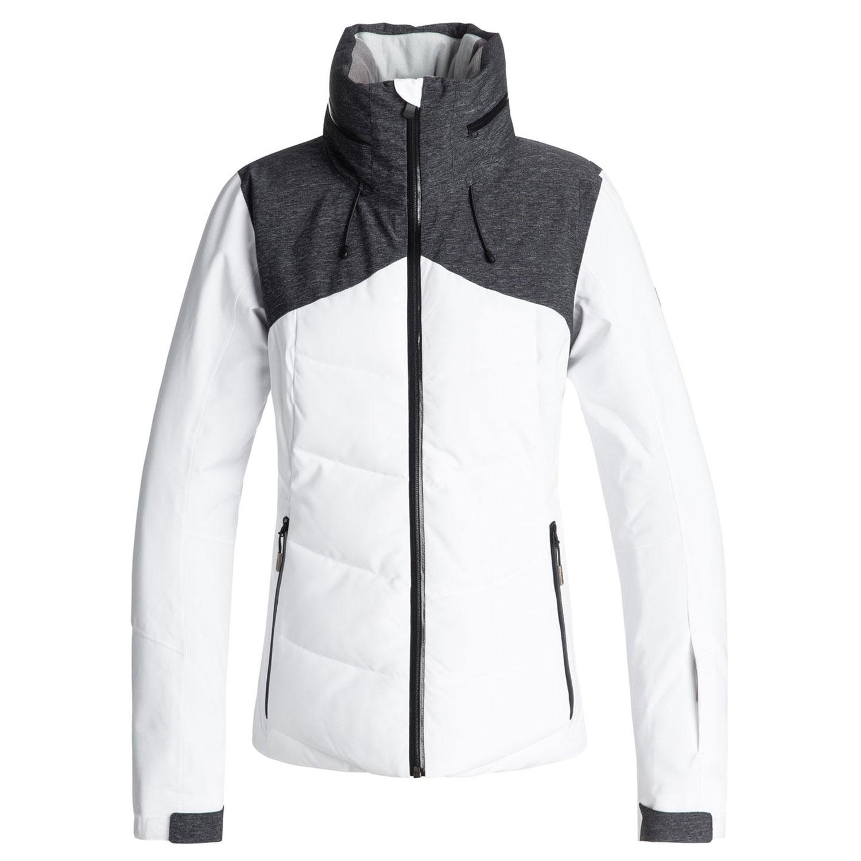 Roxy Flicker Jacket Ski- und Snowboardjacke weiß grau ERJTJ03157 WBB0