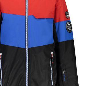 Campagnolo Boys Ski Jacke Snaps Hood Skijacke schwarz rot blau  – Bild 3