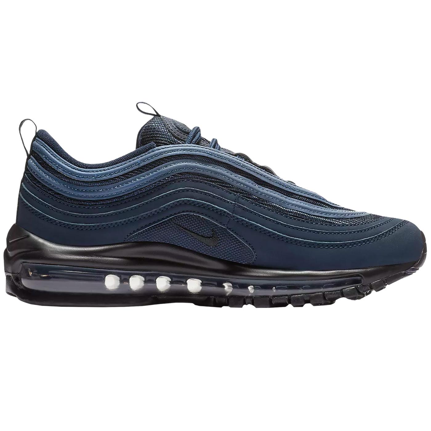 c49ff3a7110980 Nike Air Max 97 (GS) Sneaker blau schwarz 921522 403