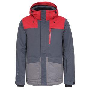 Icepeak Kanye Ski- Snowboardjacke grau rot 2-56 229 576 I 928 – Bild 1