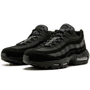 Nike Air Max 95 Herren Sneaker triple black 609048 092 – Bild 2