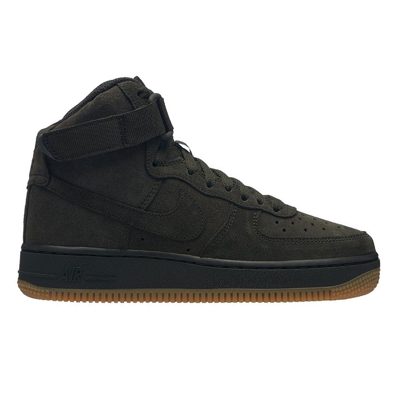 a9e05e1682ac04 Nike Air Force 1 High LV8 GS Kinder Sneaker dunkelgrün 807617 300