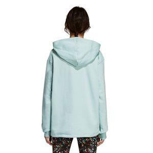 adidas Originals Oversize Hoodie Damen ash green DH4256 – Bild 3