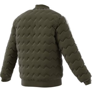 adidas Originals SST Quilted Jacket Herren Steppjacke olive DL8697 – Bild 6