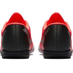Nike Vapor 12 Academy CR7 IC Fußballschuhe bright crimson AJ3731 600 – Bild 3