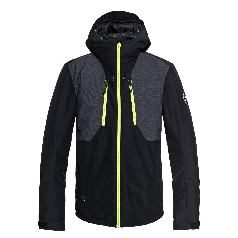 Quiksilver Mission Plus Jacket Herren Skijacke schwarz EQYTJ03189 KVJ0