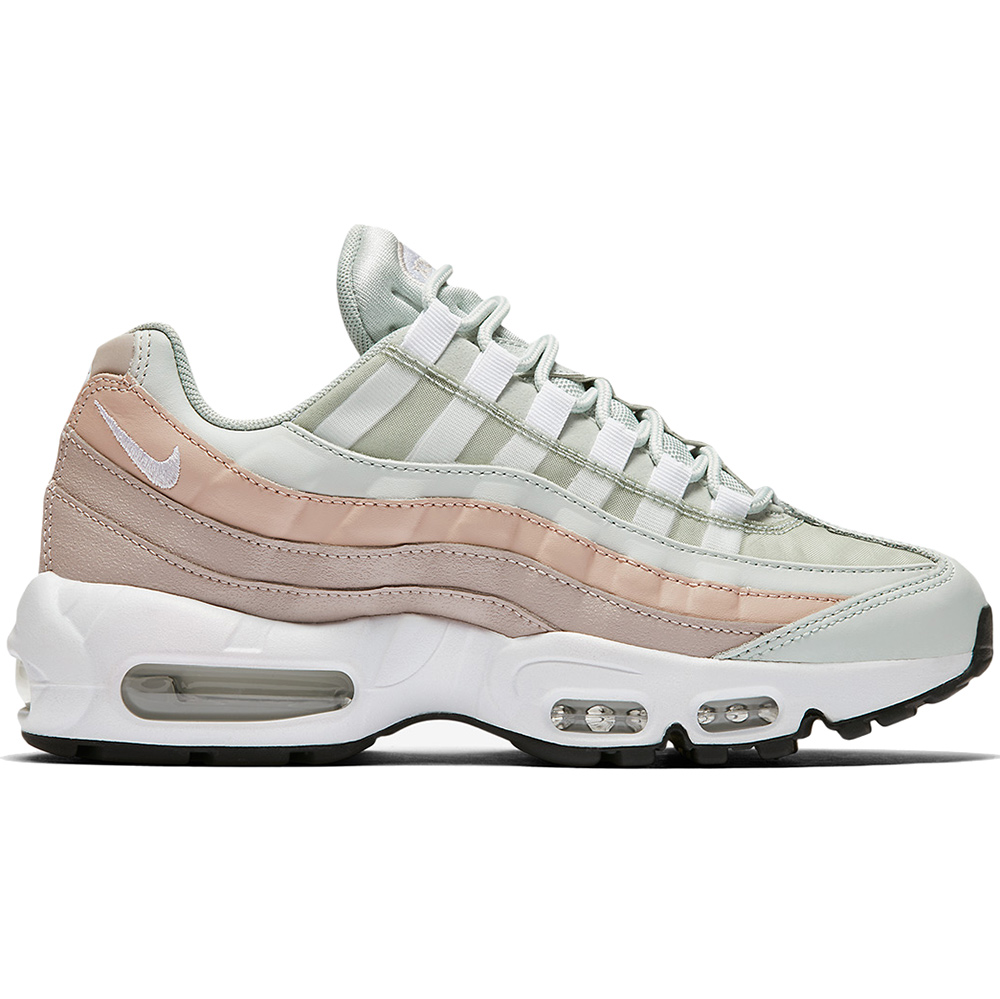 Nike WMNS Air Max 95 Damen Sneaker light silver 307960 018