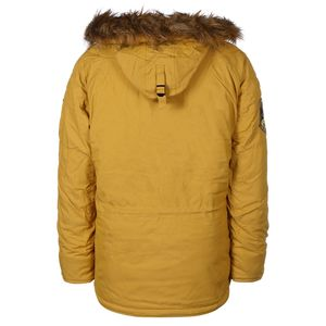 Alpha Industries Explorer Parka Herrenjacke mustard 193128/141 – Bild 2