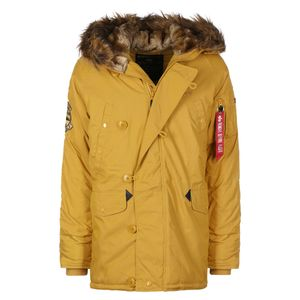 Alpha Industries Explorer Parka Herrenjacke mustard 193128/141 – Bild 1
