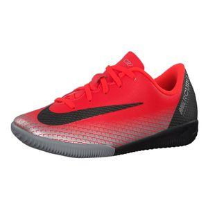Nike JR Vapor 12 Academy CR7 PS IC Fußballschuhe rot AJ3103 600 – Bild 2