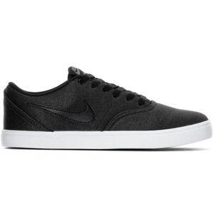 Nike SB Check Solar CNVS PRM Sneaker Skateschuh grau weiß 844493 007