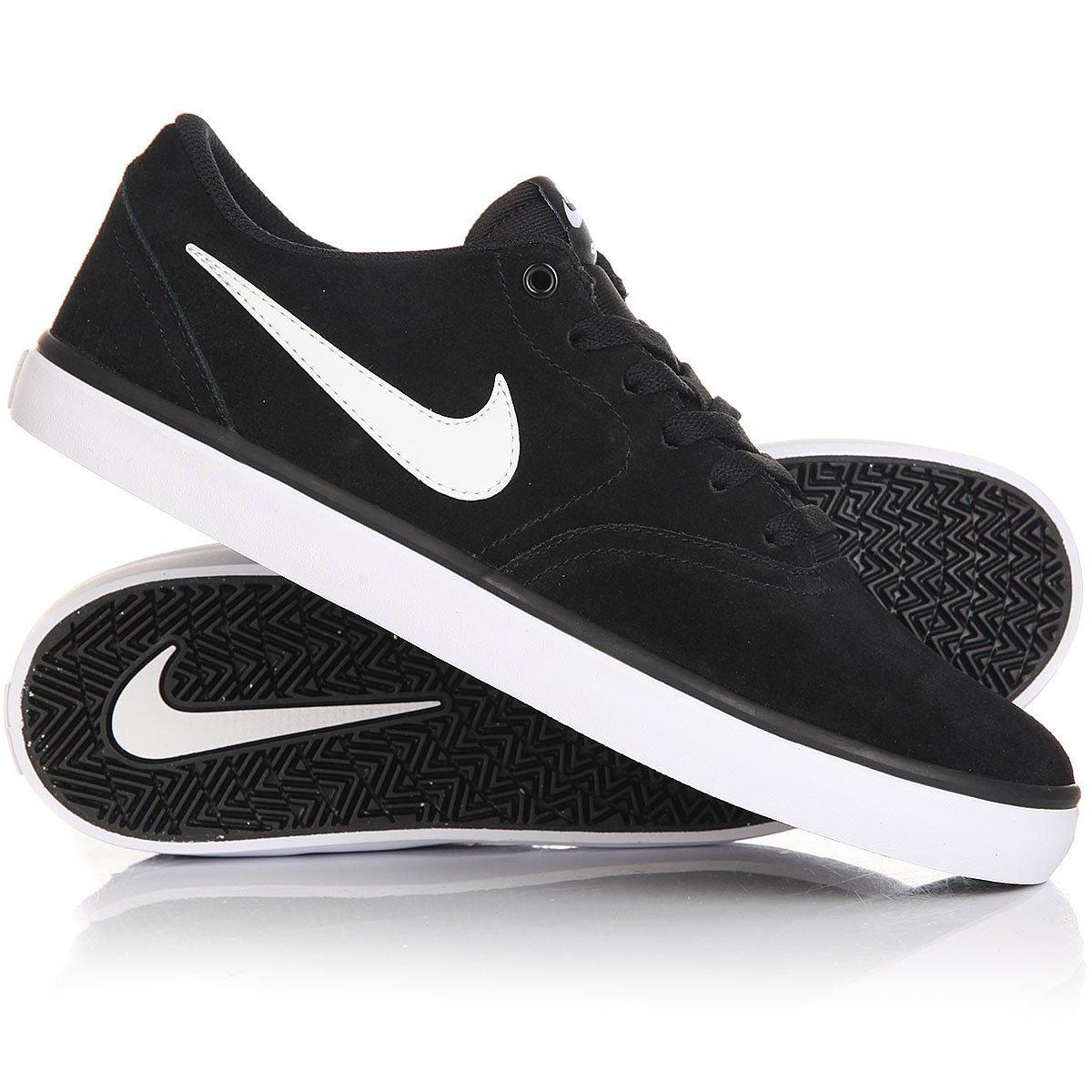 001 Herren 843895 Check Solar schwarz Nike Sneaker Skateschuh weiß SB 80PXwOnk
