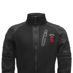 Spyder Wengen Full Zip Stryke Jacket Herren schwarz 181372 001 – Bild 2