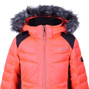 Icepeak Hara JR Kinder Skijacke neon orange 2-50 042 512I 455 – Bild 2