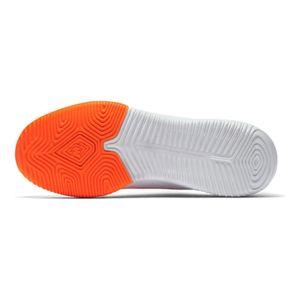Nike JR Vapor X 12 Academy GS IC Hallenschuhe weiß orange AJ3101 107 – Bild 3
