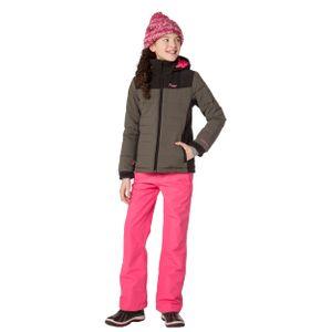 Protest Amour JR Kinder Ski Snowboardjacke khaki schwarz 6910082 756 – Bild 2