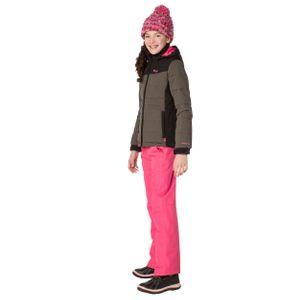 Protest Amour JR Kinder Ski Snowboardjacke khaki schwarz 6910082 756 – Bild 3