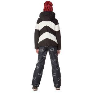Protest Celeste JR Kinder Ski- Snowboardjacke schwarz weiß 6911382 290 – Bild 4