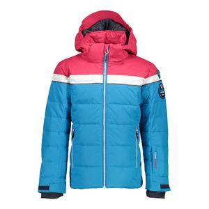Campagnolo Girls Jacke Snaps Hood Skijacke blau pink 38W0465 M713 – Bild 1