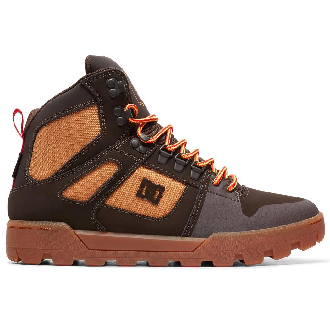 DC Shoes Pure High-Top Winter Boot Herren braun ADYB100006