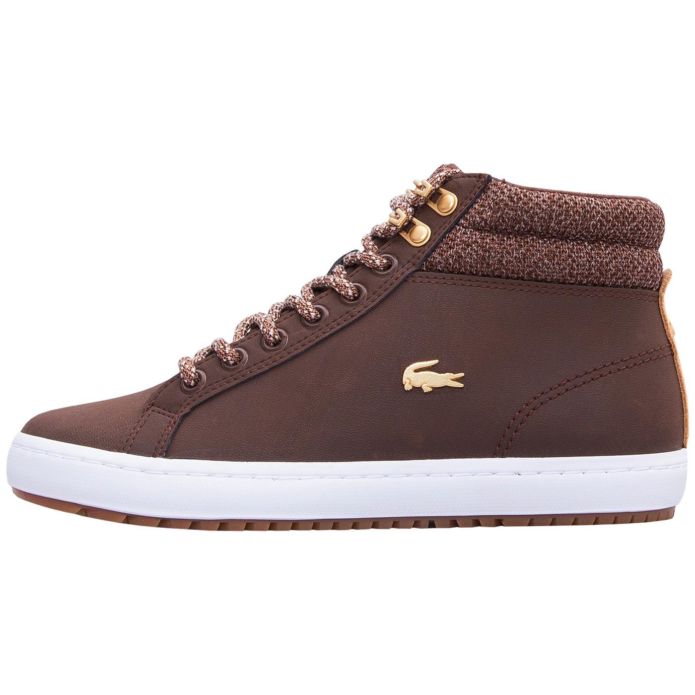 Lacoste 36caw0045b18 Sneaker Damen Dunkelbraun Insulate 7 Straightset PPxSqv4wnU