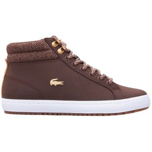 Lacoste Straightset Insulate Damen Sneaker dunkelbraun 7-36CAW0045B18 – Bild 1