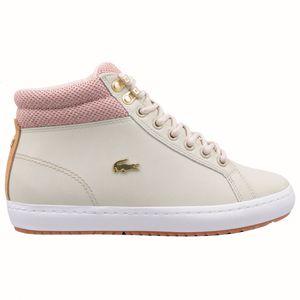 Lacoste Straightset Insulate Damen Sneaker beige 7-36CAW00457F8 – Bild 1