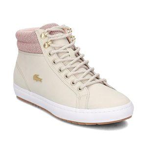 Lacoste Straightset Insulate Damen Sneaker beige 7-36CAW00457F8 – Bild 3