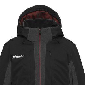 Phenix Niseko Jacket Herren Skijacke schwarz grau ES872OT32 BK – Bild 3