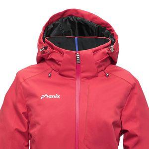 Phenix Maiko Jacket Damen Skijacke rot ES882OT61 MA – Bild 3