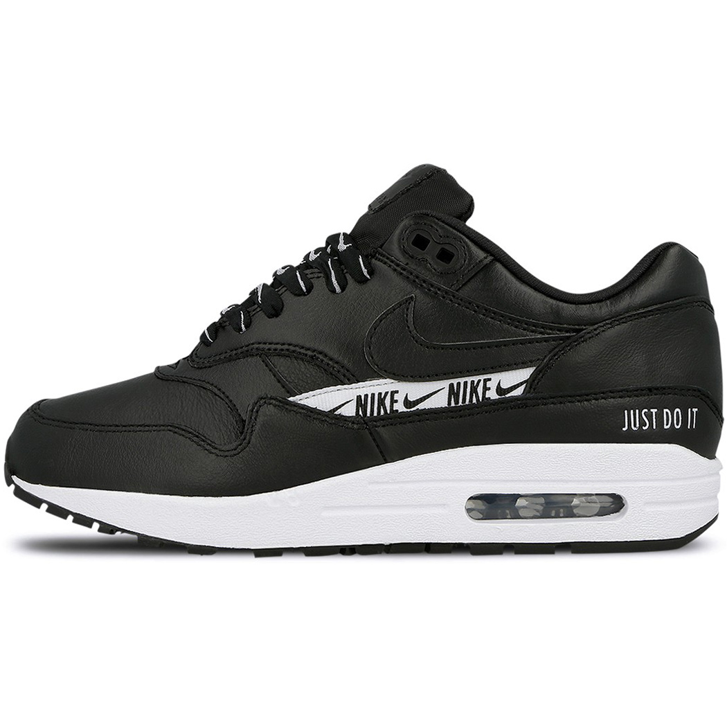 reputable site 50657 095b7 Nike WMNS Air Max 1 SE quotJust do itquot schwarz weiß ...
