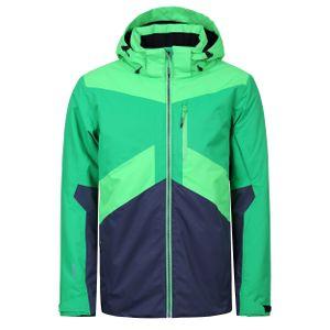 Icepeak Kris Ski- Snowboardjacke Herren grün grau 2 56227 659I 550 – Bild 1