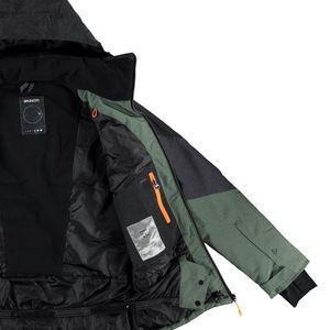 Brunotti Nitrogen Men Jacket Herren Ski- Snowboardjacke grün grau  – Bild 3