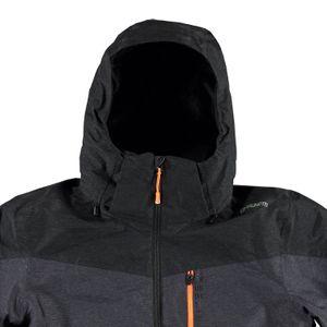 Brunotti Nitrogen Men Jacket Herren Ski- Snowboardjacke grün grau  – Bild 5