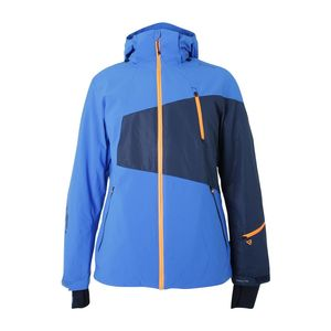 Brunotti Kentucky Men Jacket Herren Ski- Snowboardjacke blau orange – Bild 1