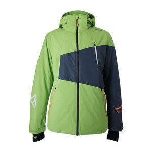 Brunotti Kentucky Men Jacket Herren Ski- Snowboardjacke grün grau – Bild 1