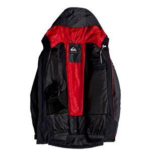 Quiksilver Sierra Jacket Herren Skijacke schwarz grau EQYTJ03181 KVJ0 – Bild 3