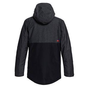 Quiksilver Sierra Jacket Herren Skijacke schwarz grau EQYTJ03181 KVJ0 – Bild 2