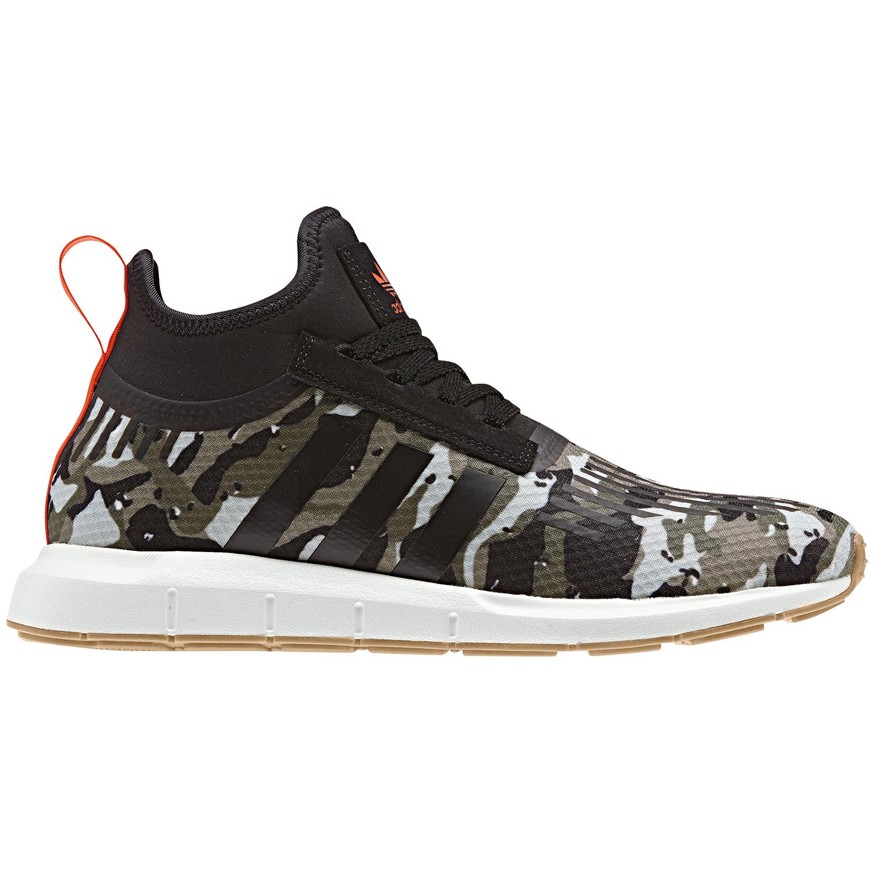 4a77e11619e53 adidas Originals Swift Run Barrier Herren Sneaker schwarz camo B42234