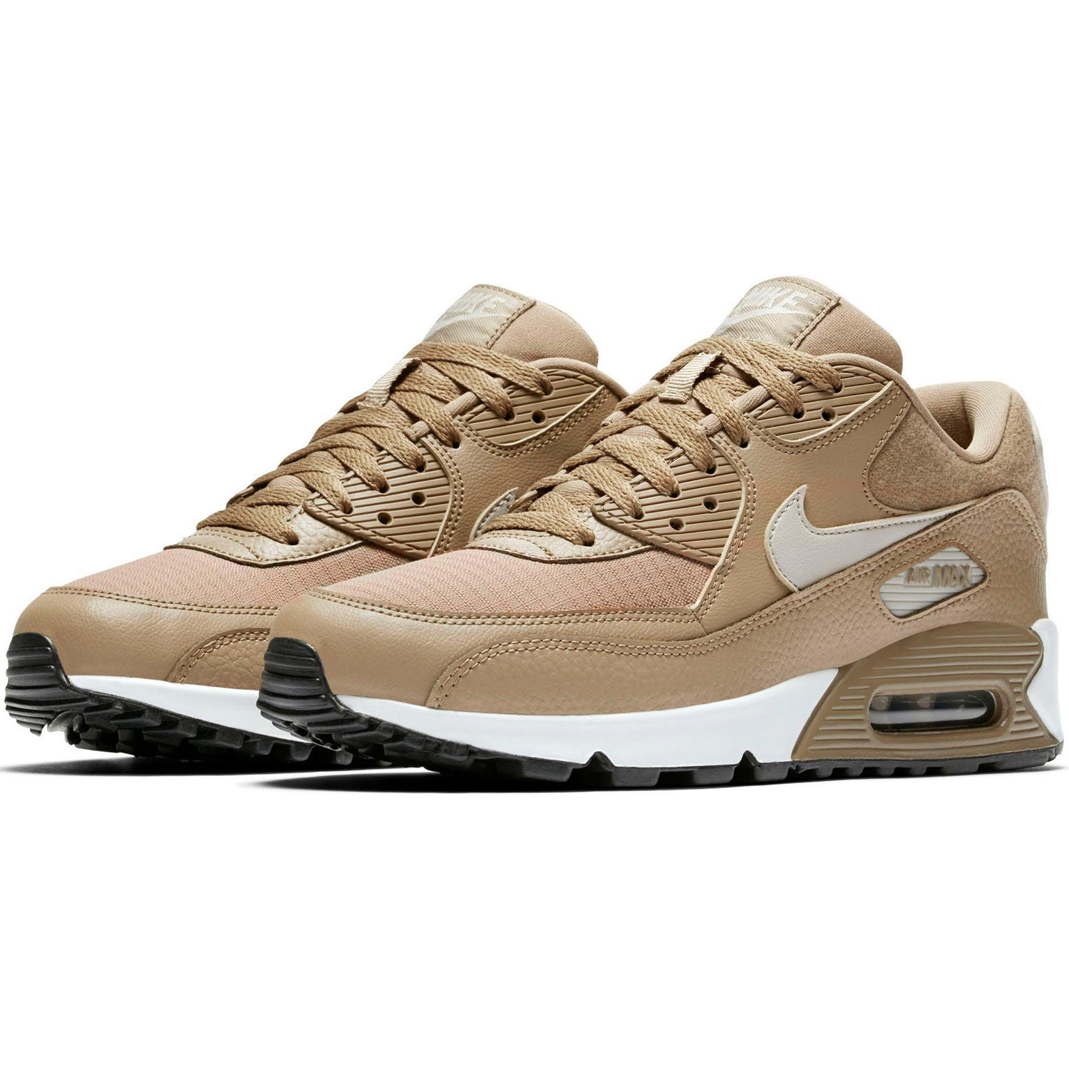 nike wmns air max 90 damen sneaker beige braun 325213 212. Black Bedroom Furniture Sets. Home Design Ideas