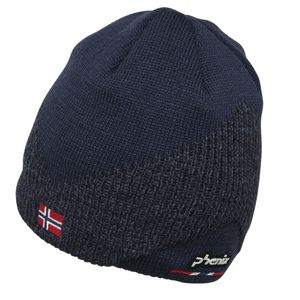 Phenix Norway Alpine Team Beanie Herren Strickmütze navy EF878HW00 DN2 – Bild 1